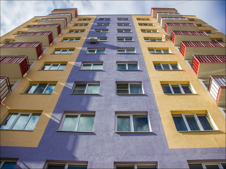Монтаж штукатурного фасада в Новосибирске
